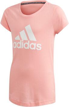 adidas YG MH BOS TEE lány szabadidő póló rózsaszín