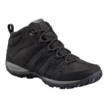 Columbia Woodburn II Chukka WP férfi téli cipő Férfiak fekete
