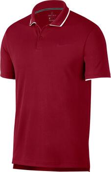 Nike Court Dri-FIT férfi teniszpóló Férfiak piros