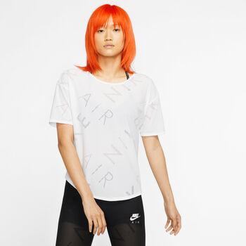 Nike SS Top Air női futópóló Nők fehér