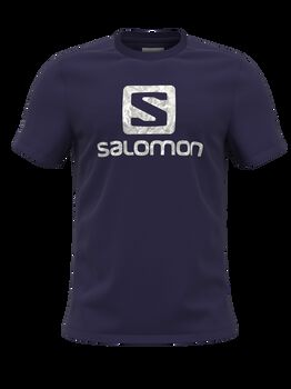 Salomon Outlife Logo férfi póló Férfiak lila