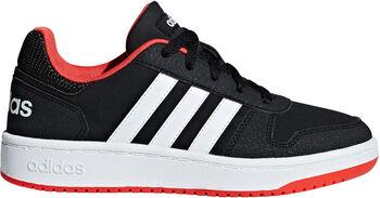 ADIDAS Hoops 2.0 K gyerek szabadidő cipő fekete