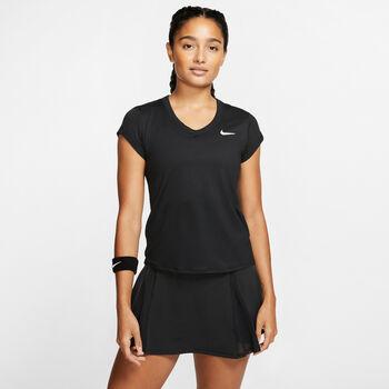 Nike  Női-T-shirt W NKCTDRY TOP SS Nők fekete