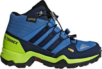 ADIDAS Terrex Mid GTX K gyerek magas szárú túracipő kék