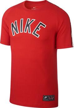 Nike Air Tee Cltr férfi póló Férfiak piros