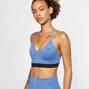Nike Indy Light-Support sportmelltartó Nők kék