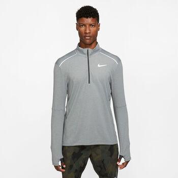 Nike Element 3.0 HZ férfi hosszú ujjú futófelső Férfiak szürke