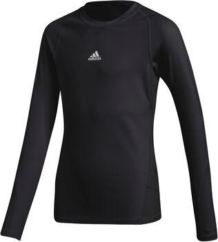 adidas Alphaskin LS Y gyerek hosszú ujjú aláöltözet Fiú fekete