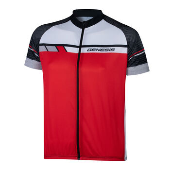 GENESIS Desulo férfi kerékpáros mez Férfiak piros