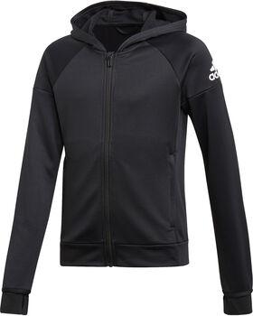 adidas JG TR EQ FZ HD Fiú fekete