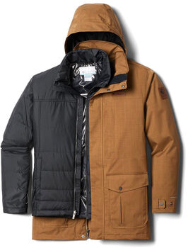 Columbia Horizons Pine 3in1 férfi kabát Férfiak barna