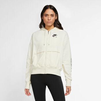 Nike W Nsw Air Fz Top Flc női kapucnis felső Nők fehér
