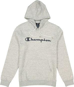 Champion Hooded Sweatshirt férfi kapucnis felső Férfiak szürke