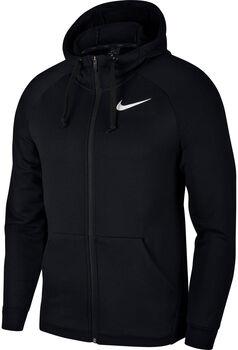 Nike M Nk Dry Fl Hd Fz férfi hosszújjú felső Férfiak fekete