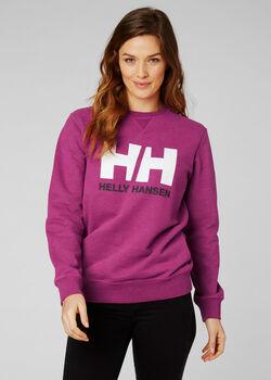 Helly Hansen W HH Logo Crew női pulóver Nők lila