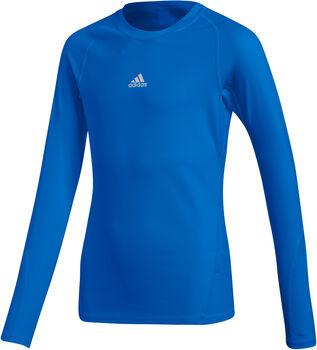 adidas Alphaskin LS Y gyerek hosszú ujjú aláöltözet Fiú kék