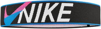 Nike Elastic Cross Headband fejpánt fekete