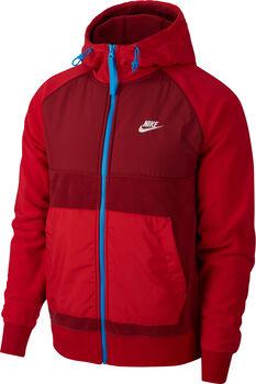 Nike M Nsw Ce Hoodie Fz  férfi kapucnis felső Férfiak piros