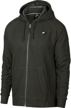 Nike M Nsw Optic Hoodie Fz férfi kapucnis felső Férfiak zöld