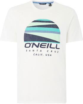 O'Neill Sunset Logo férfi póló Férfiak fehér