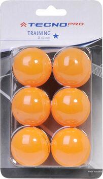 TECNOPRO 1 Star pingpong labda narancssárga
