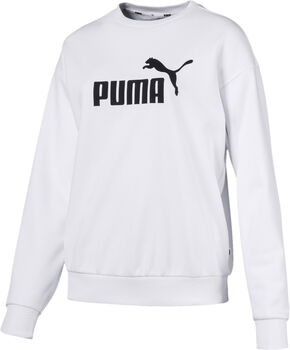 Puma Ess Logo Crew Sweat női pulóver Nők fehér