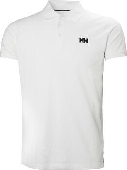 Helly Hansen Transat férfi galléros póló Férfiak fehér