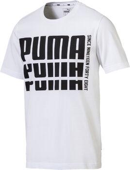 Puma  Rebel Bold Basic Teeférfi póló Férfiak fehér