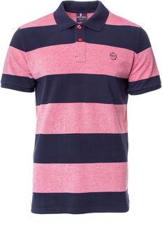 Heavy Tools Denton férfi galléros póló Férfiak rózsaszín