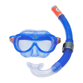 AQUALUNG Lung Reef Combo Jr gyerek búvárkészlet kék