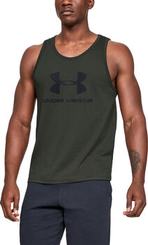 UNDER ARMOUR Sportsty.Logo Férfiak zöld