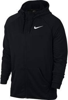 Nike Dri-FIT Training Hoodie férfi kapucnis felső Férfiak fekete