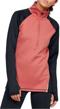 Under Armour CG 1/2 Zip Col  női hosszúujjú felső Nők rózsaszín