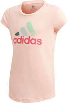 adidas  JG BOS GRAPHlány póló rózsaszín