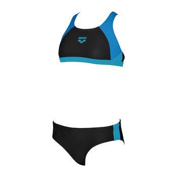 Arena Ren Jr. 2P lány úszóbikini fekete
