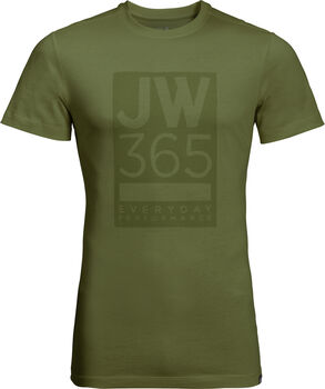 Jack Wolfskin 365 T férfi póló Férfiak zöld