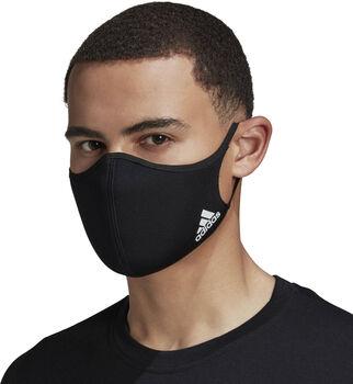 adidas Face Cover M/L maszk (3db/csomag) fekete