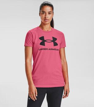 Under Armour  női pólóLive Sportstyle Graphic SSC Nők rózsaszín