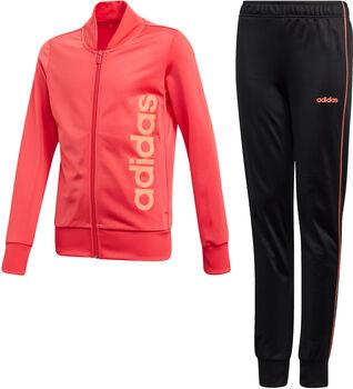 adidas YG PES TS lány melegítő piros
