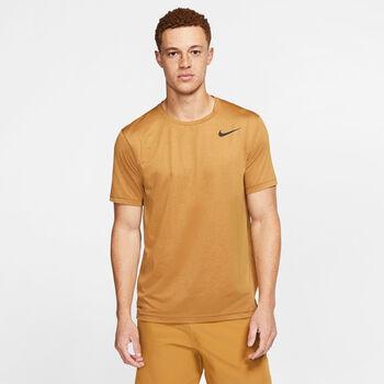 Nike Pro TOP férfi póló Férfiak sárga
