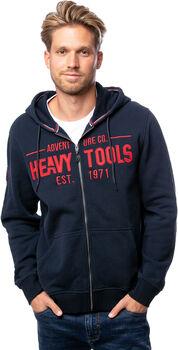 Heavy Tools Saxor férfi kapucnis felső Férfiak kék