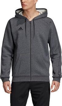 adidas CORE18 FZ férfi kapucnis felső Férfiak szürke