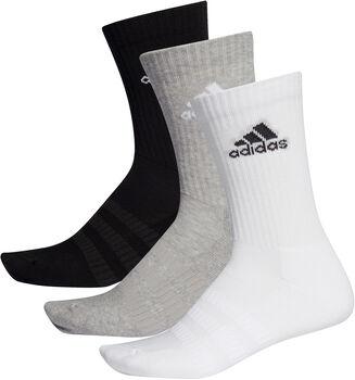 adidas CUSH CRW 3P zokni (3 pár) szürke