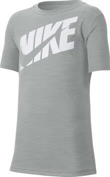 Nike Big Kids' SS gyerek póló Fiú szürke