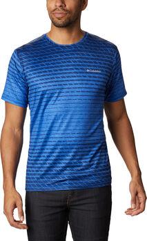 Columbia Tech Trail Print férfi póló Férfiak kék