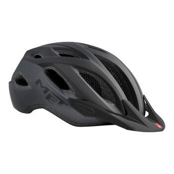 MET Crossover SMU kerékpáros sisak fekete