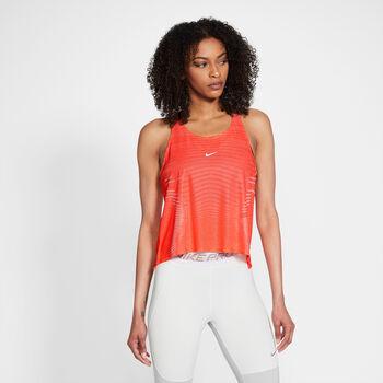 Nike  W Np Cln Tank Netnői top Nők narancssárga