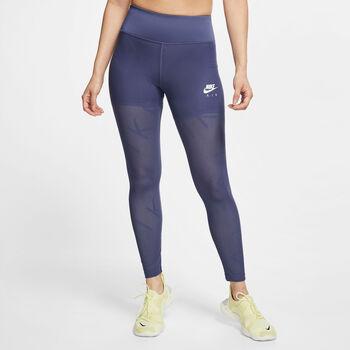 Nike Tight Air Mesh 7/8-os hosszúságú leggings Nők kék