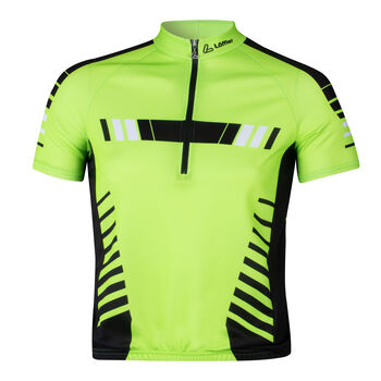 LÖFFLER Energie férfi kerékpáros mez Férfiak zöld