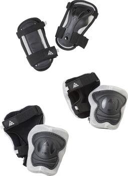 K2 EXO JRPAD SET gyerek védőszett görkorcsolyázáshoz, rollerezéshez fekete